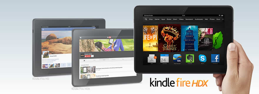Amazon Kindle HDX