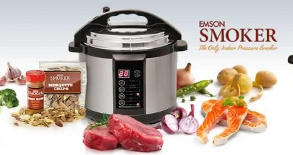 Emson Indoor Smoker Pressure Cooker
