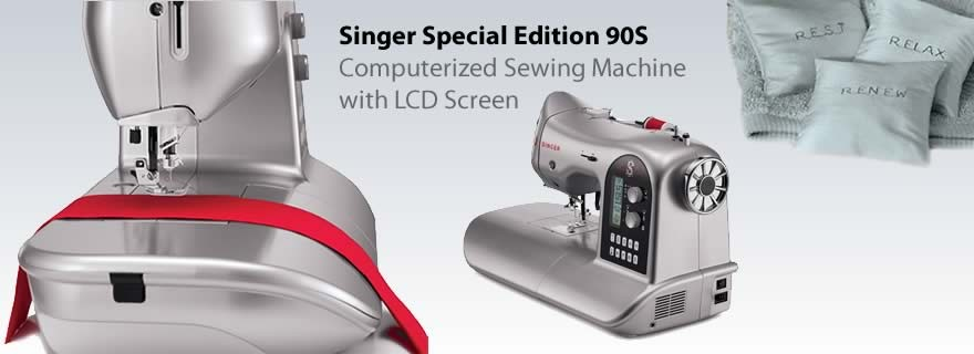 Singer Special Edition 90S Computerized Sewing Machine