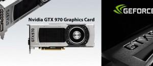 nvidia GTX 970 Graphics Card