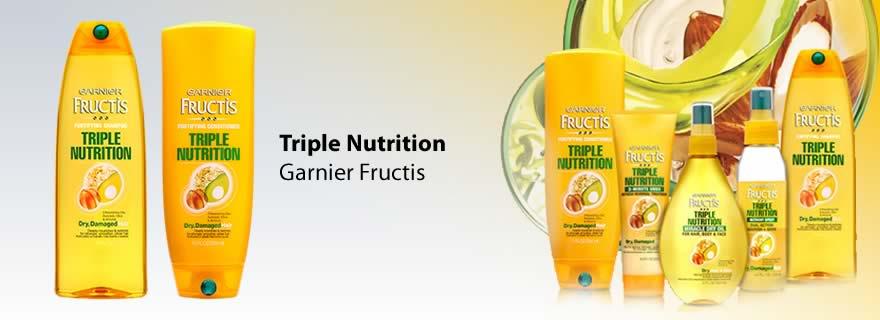 Fructis, Garnier, Triple Nutrition