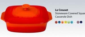 Le Creuset Stoneware Square Casserole Dish