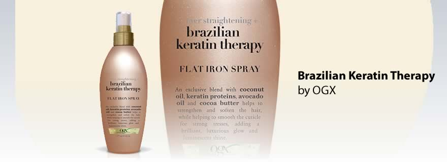 OGX Keratin Therapy Flat Iron Spray